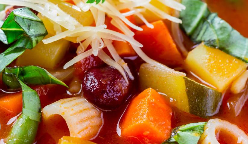 Big batch veggie bean soup