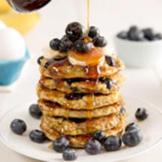 Blueberry Oat Pancake