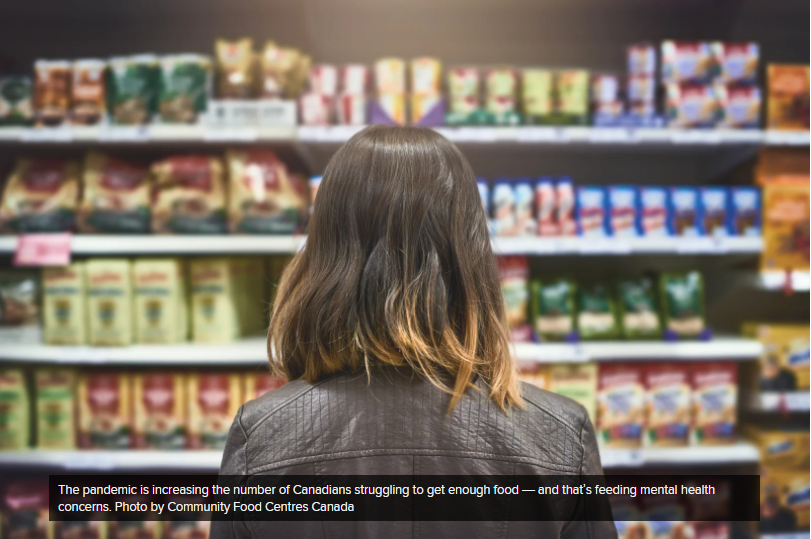 COVID-19 hurting Canadians' food security and mental health: StatCan | National Observer